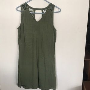 Old Navy sage/army green dress